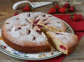 Cosa c'è di dolce oggi? Una torta panna e fragole. È soffice, profumata ed ha un sapore delicato e molto gradevole. Una torta da credenza perfetta per colazione, merenda e per accompagnare un tè con l