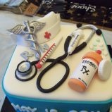 Medical Themed Cake- I want to get this for my sister when she finally graduates nursing school.