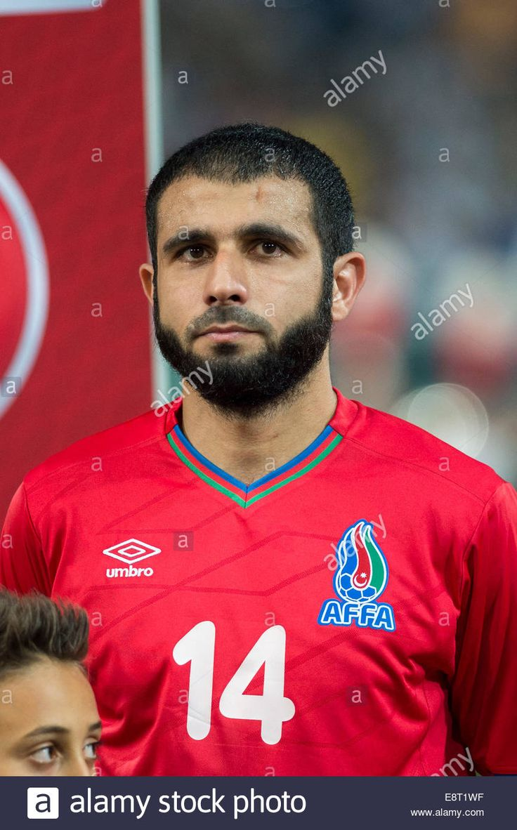 Download this stock image: Palermo, Italy. 10th Oct, 2014. Rashad Sadygov (AZE) Football/Soccer : UEFA EURO 2016 Qualifying Group H match between Italy 2-1 Azerbaijan at Stadio Renzo Barbera in Palermo, Italy . © Maurizio Borsari/AFLO/Alamy Live News - e8t1wf from Alamy's library of millions of high resolution stock photos, illustrations and vectors.