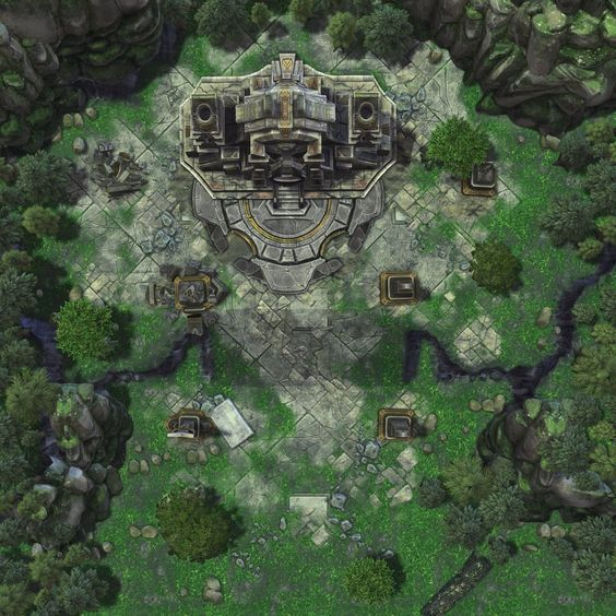 Temple-02 by gogots deviantart com on @DeviantArt | Maps in