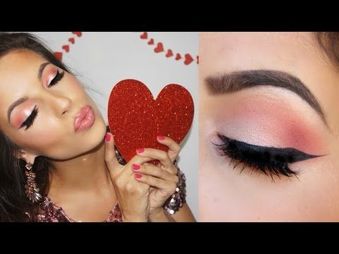 Valentines Makeup Tutorial 2015 - YouTube