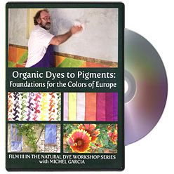 Natural Dye Workshop 3 with Michel Garcia