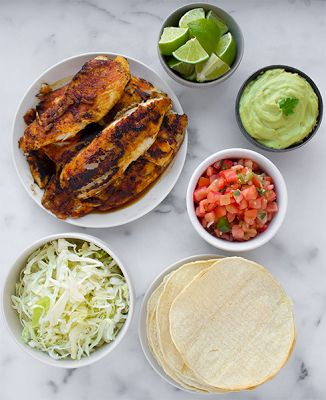 Recipe: Blackened Tilapia Tacos (great flavorful recipe for bland tilapia)