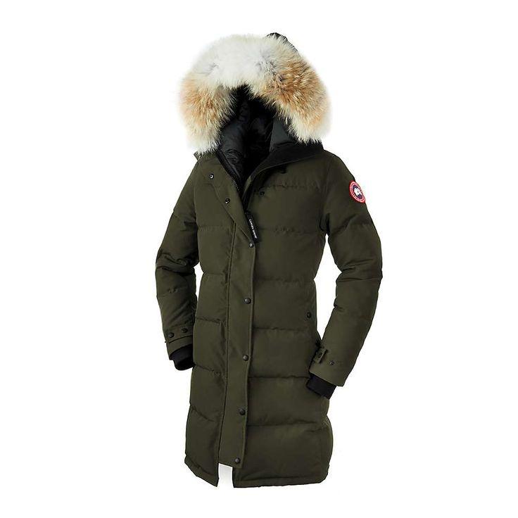 Canada Goose Women's Shelburne Parka - Small - Military Green