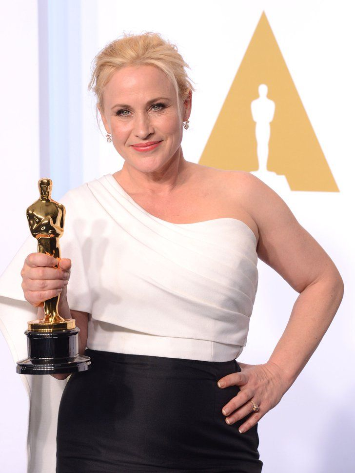 Pin for Later: 23 Talented Women Who Swept Award Season Patricia Arquette  Year: 2015 Film: Boyhood Award: Best supporting actress