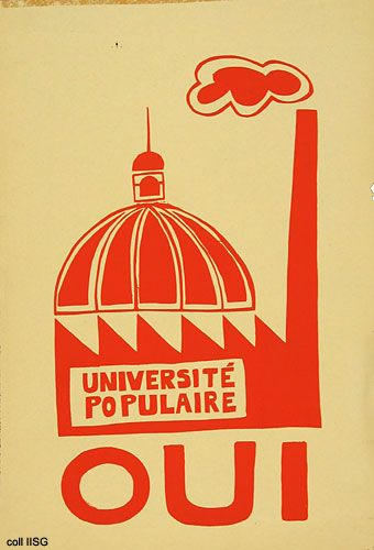 Atelier Populaire of Mai 1968