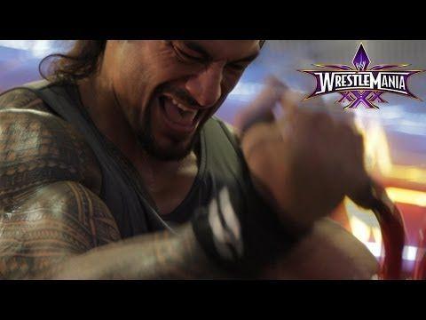 Roman Reigns Wrestlemania Workout  - http://www.wrestlesite.com/wwe/roman-reigns-wrestlemania-workout/