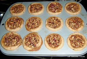 Cooking on my Weber Q-100 and other recipes: Mini Pecan Tarts