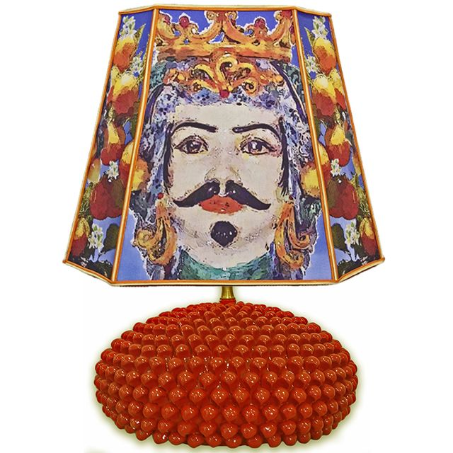 """Moro Siciliano"" #loveitaly #homedecor #lighting #lampshade #homeinterior #interiordesign #homeidea #taormina #madeinitaly #ceramicadicaltagirone #homedesign #lamps #decor #arch"