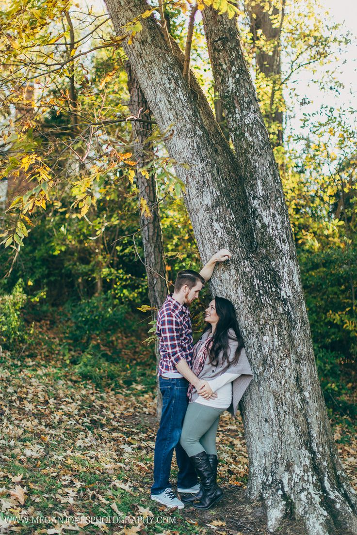 Fall Engagement // Megan Jones Photography // Smithfield, NC