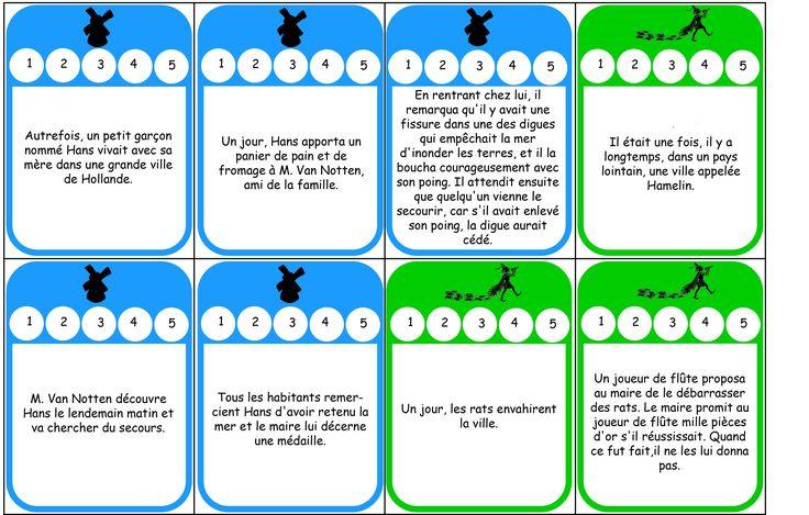 Le schéma narratif: jeu pour comprendre le déroulement, plus ressource dys.