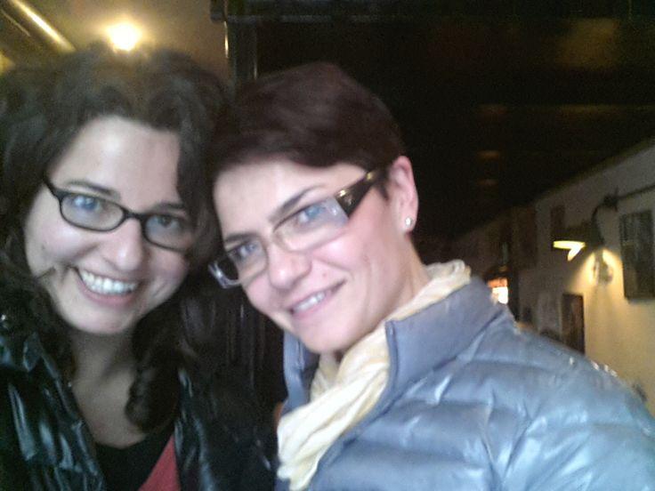 Con @Rosa Giuffrè  per @Cowinning a Milano 21 Marzo 2013