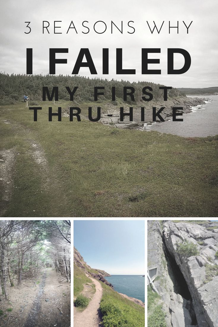 Thru-hiking is hard. Here's one women's story of why she failed and what she could have done differently.
