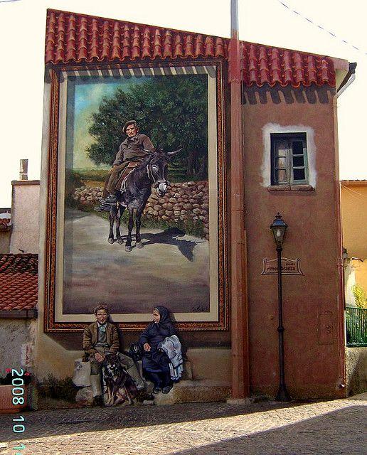 Murales Tinnura Sardegna    #TuscanyAgriturismoGiratola