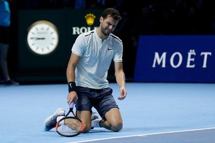 ATP Finals: Grigor Dimitrov Defeats David Goffin for Title