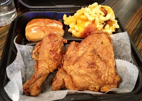 Reading Terminal's Newest Fried Chicken Addition/Addiction : KeVen Parker Soul Food Cafe | Midtown Lunch: Philadelphia