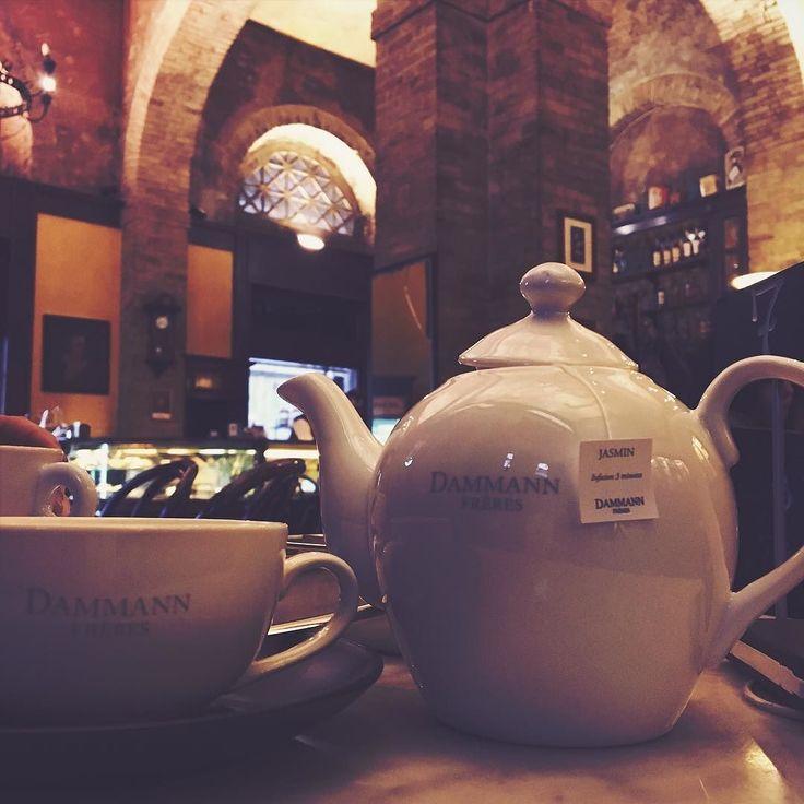 Dammann Tea what an amazing choice! Well done Caffè Svizzero! #cagliari #coffee…