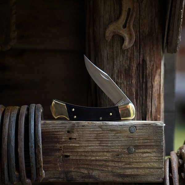 The Buck G-10/110. Best Made Co. exclusive. American made S30V steel, epoxy resin G10 handle. Will not absorb water. Will not shrink/expand due to differences in temperature, humidity, etc. Great American brand.