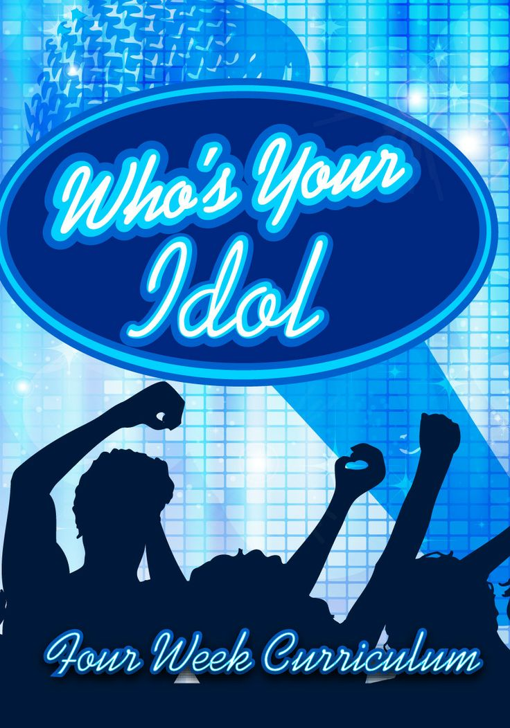 Who's Your Idol 4-Week Children's Ministry Curriculum http://www.childrens-ministry-deals.com/products/whose-your-idol-4-week-curriculum