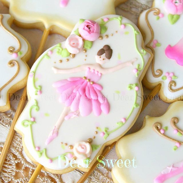 Ballerina cookies                                                                                                                                                                                 More