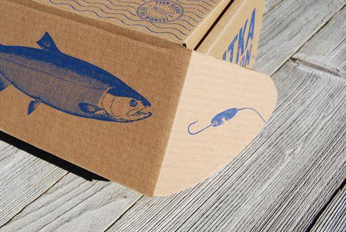 Boxed Salmon