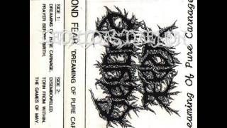 BEYOND FEAR - Dreaming of Pure Carnage ◾ (demo 1995, UK death metal)