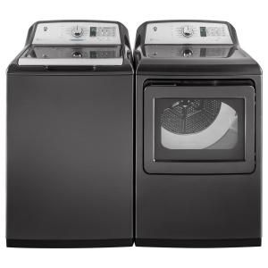 GE 5.0 cu. ft. Smart High-Efficiency Top Load Washer with Wi-Fi in Diamond Gray, ENERGY STAR-GTW750CPLDG - The Home Depot