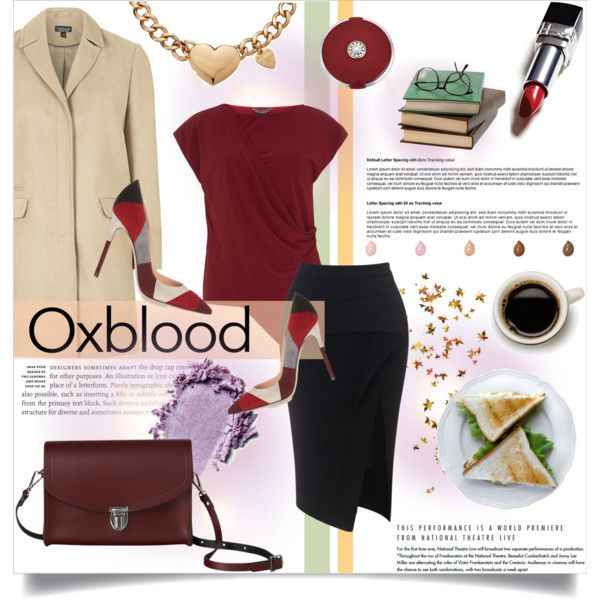 A fashion look from October 2015 featuring Dorothy Perkins tops, Topshop coats and Maticevski skirts. Browse and shop related looks.