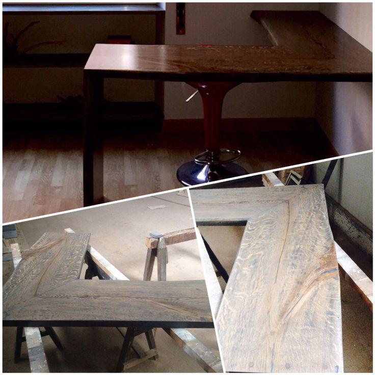 Scrivania #office #wood #interiordesign #woodworking