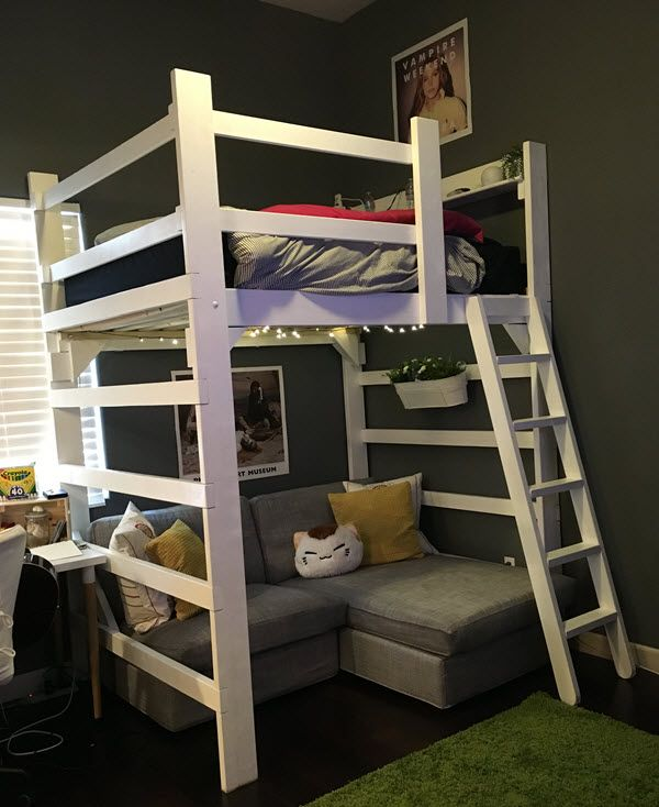 17 best images about teen bedroom with loft bed on