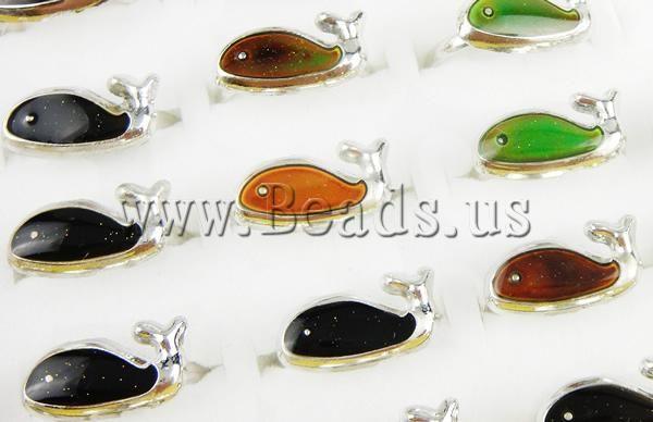 Кольцо с эмалью настроения , цинковый сплав.Кит, http://www.beads.us/ru/product/Enamel-Mood-Finger-Ring-18x10mm_p8928.html