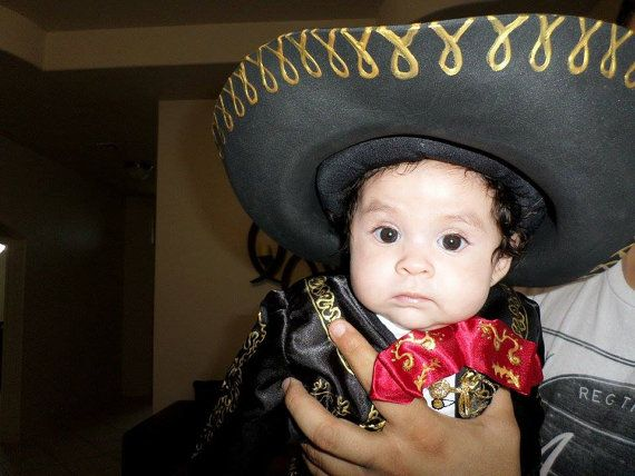 Charro outfit for baby girl by YeyeandCocoa on Etsy