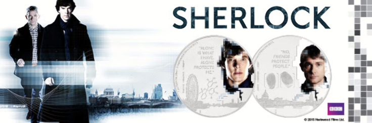 New Zealand Releases Sherlock Themed Silver Coin Set