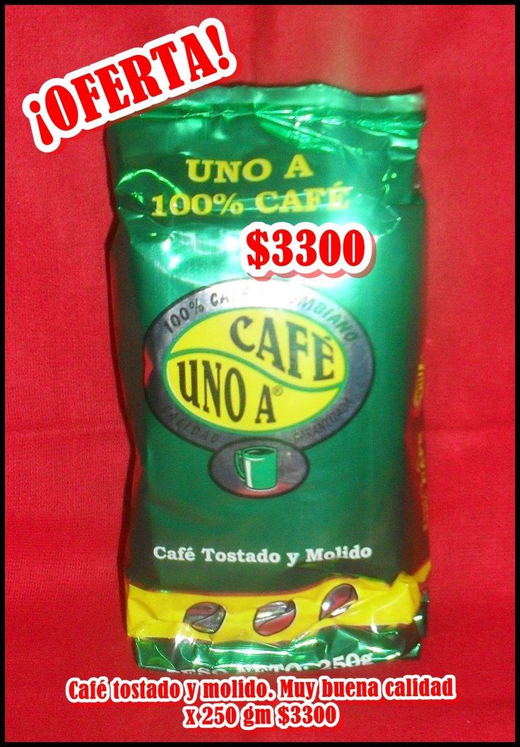 Café UNO A x 250g $3300