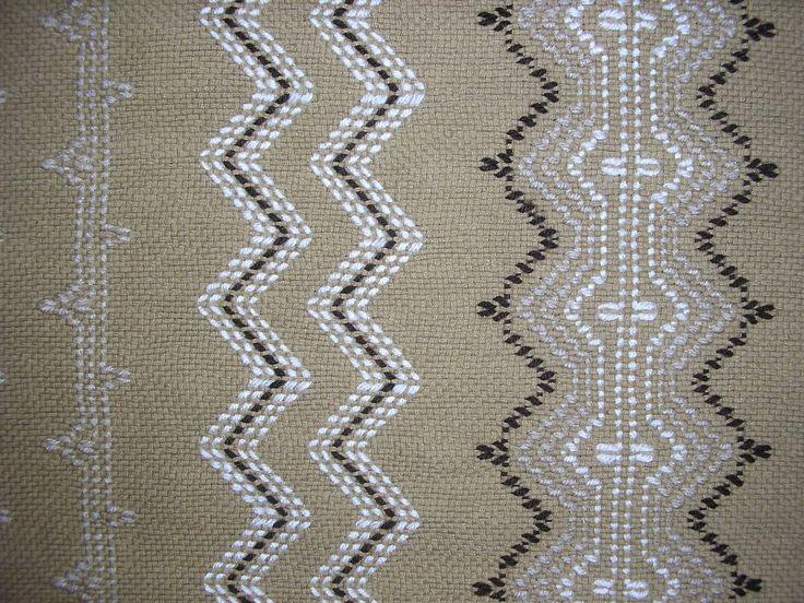 Idaho Potato Swedish Weaving Blanket. $110.00, via Etsy.