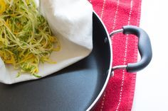 How to Dry Sauté Zucchini Noodles That Aren't Watery!