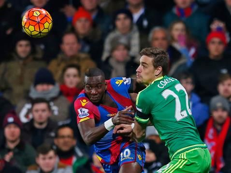 Some of the images from Monday night's game against Sunderland at Selhurst Park.