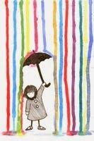 coloured rain