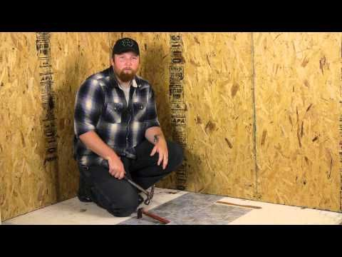 How To Remove Old Peel Amp Stick Vinyl Tiles From A Floor