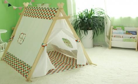 Blue Large Car A Frame Teepee Tent by All 4 Kids