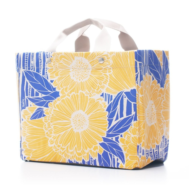 Bags & Totes: Atelier Box Yellow Sunflower $77