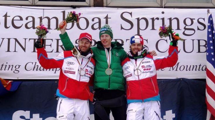 Antoine Bouvier médaillé de bronze cette année à l'occasion des championnats du monde de télémark.