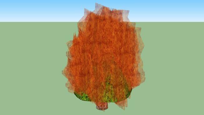 The Burning Bush - Sketchup 8. - 3D Warehouse