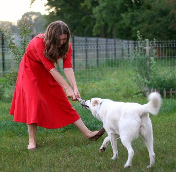 Czerwone sukienki, czyli podomki | Pracownia SHU