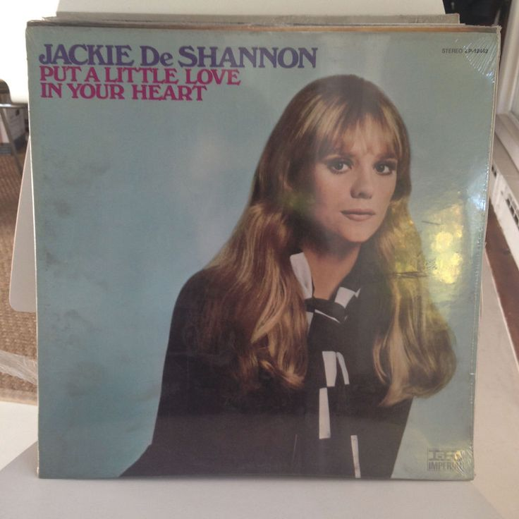 JACKIE DESHANNON Put A Little Love LP 1969 FACTORY SEALED Imperial Orig US Press #PopRock