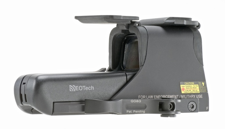 My Optic choice for my AR ...Eotech 552 with GG&G quick attach and Dust Covers.