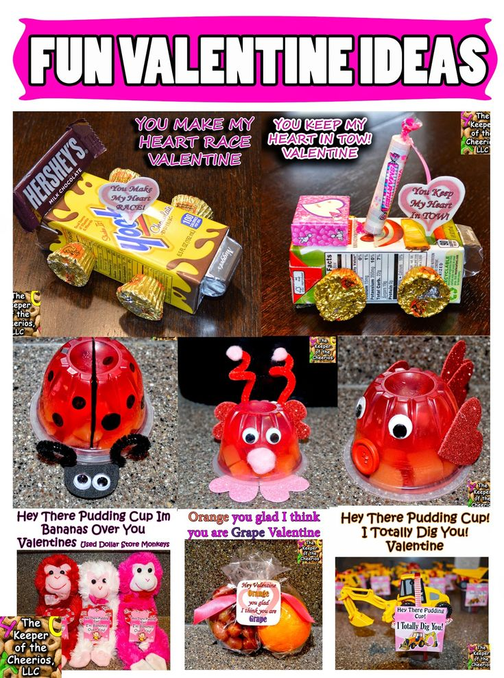 The Keeper of the Cheerios: VALENTINE IDEAS