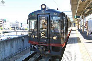 【京丹後 旅行記】食と絶景を満喫できるレストラン列車「丹後くろまつ号」