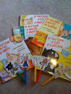 Laura Numeroff -adorable {Free} preschool printables