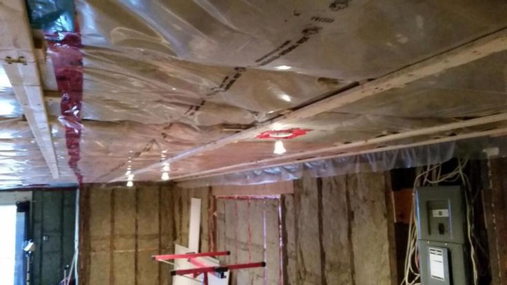 Strapping for Livingroom renovation